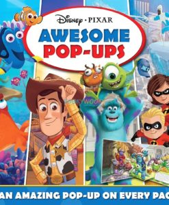 Disney Pixar Awesome Pop Ups 9781789056310 cover page