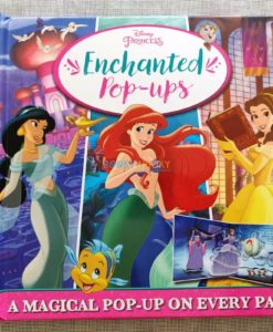Disney Princess Enchanted Pop Ups 9781789056303 cover page