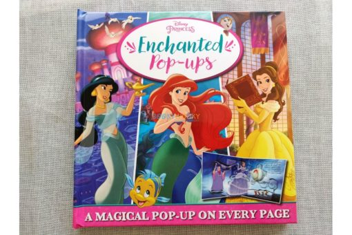 Disney Princess Enchanted Pop Ups 9781789056303 cover page