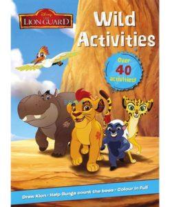 Disney The Lion Guard Wild Activities 9781474882781 (1)