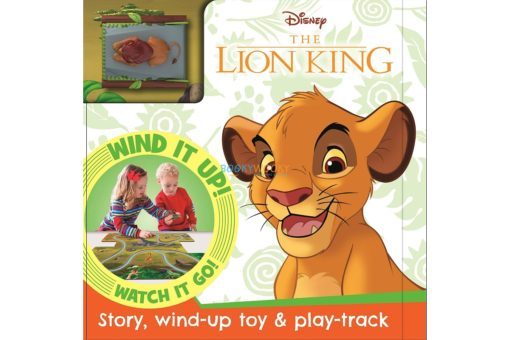 Disney The Lion King (with Toy) 9781838526238 cover page