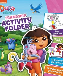 Dora the Explorer Friendship Activity Folder 9781472399731 cover page