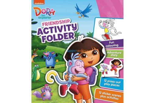 Dora the Explorer Friendship Activity Folder 9781472399731 cover page