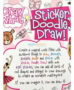 Draw What Sticker Doodle Draw (Pink) (8)