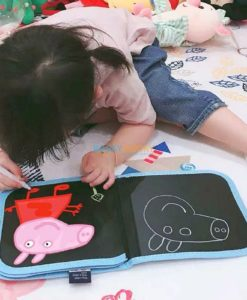 Eraseable Chalkboard book (4 designs available) (3)