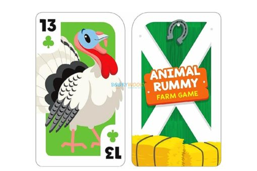 Farm Animal Rummy Card Game 1