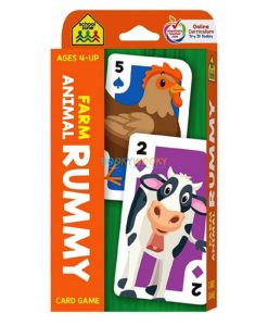 Farm Animal Rummy Card Game School Zone Flash Cards 9781488940439 cover page