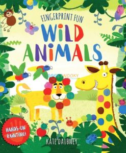 Fingerprint Fun Wild Animals 9781742819136 cover page