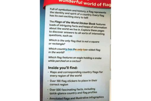 Flags of the World Sticker Book (2)