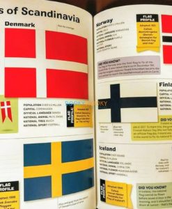 Flags of the World Sticker Book (4)