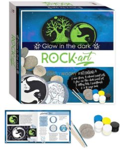 Glow in the Dark Rock Art (2)