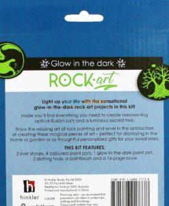 Glow in the Dark Rock Art (4)
