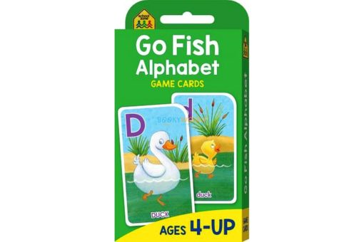 Go Fish Alphabet Game Cards 9781488933769 cover page