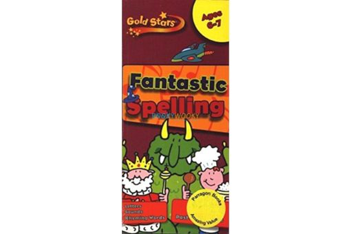 Goldstars Fantastic Spelling 6 - 7 9781445477602 cover page