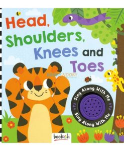 Head Shoulders Knees and Toes (Sound Book) sing along with me 9781787721364 cover page