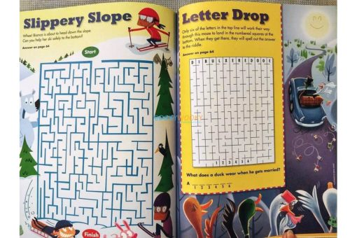 Highlights Amazing Mazes Hit the Trail (5)