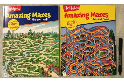 Highlights Amazing Mazes Hit the Trail (7)