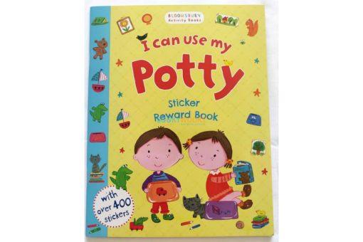 I Can Use My Potty Sticker Reward Book (2)