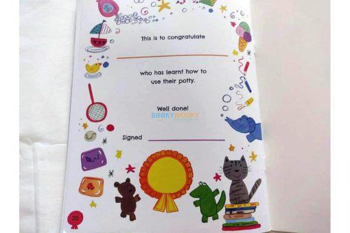 I Can Use My Potty Sticker Reward Book (8)