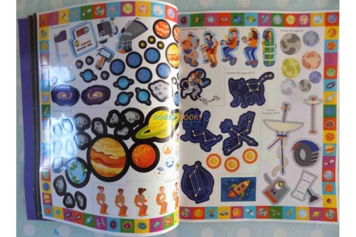 Incredible Space Sticker Activity (2)
