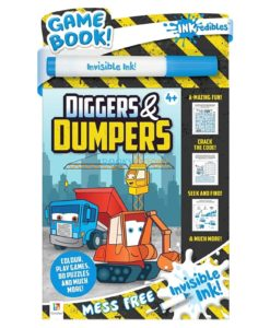 Inkredibles Invisible Ink Diggers & Dumpers 9781488914751 (1)