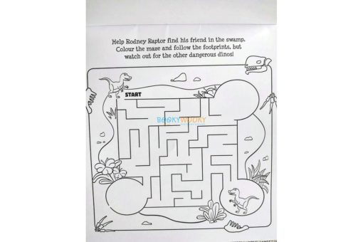 Inkredibles Magic Ink Picture Roarsome Dinosaurs (2)