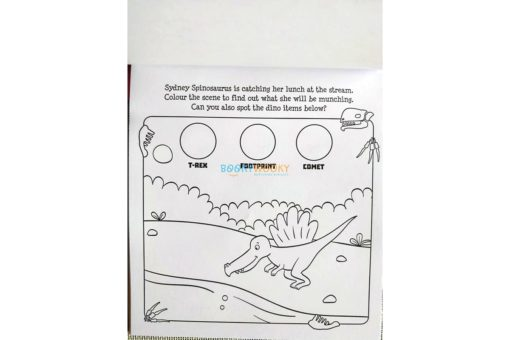 Inkredibles Magic Ink Picture Roarsome Dinosaurs (3)