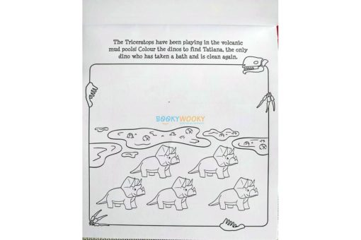 Inkredibles Magic Ink Picture Roarsome Dinosaurs (4)