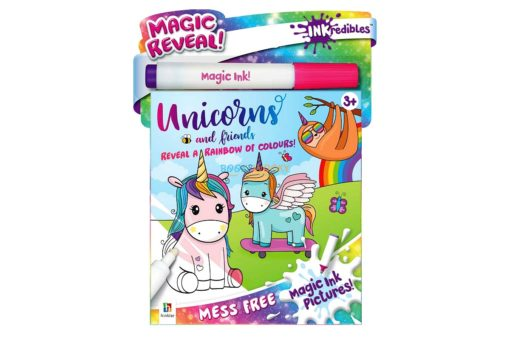Inkredibles Magic Ink Picture Unicorns & Friends 9781488914737 (1)