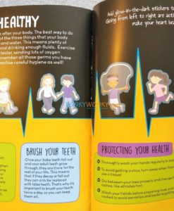 Know and Glow Human Body Sticker Activities (2)