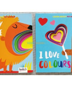 Learn About My World and I Love Colours both titles
