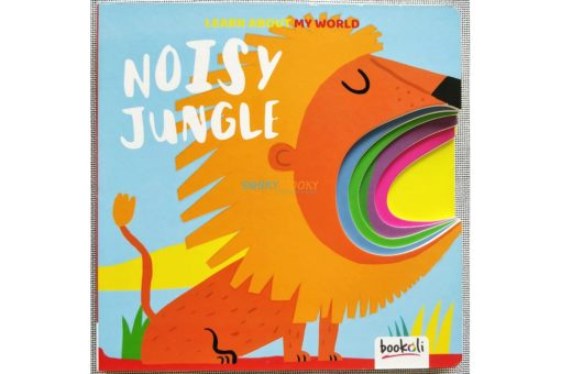 Learn About My World Noisy Jungle Cover with cut outs