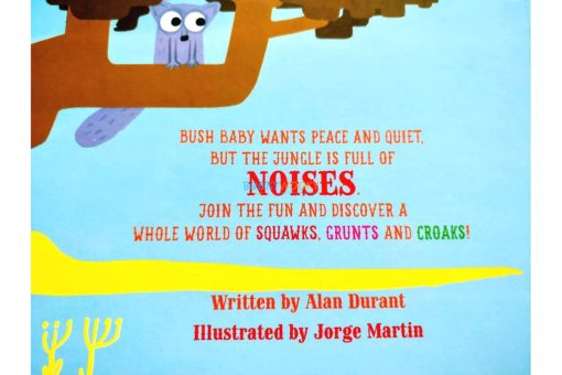Learn About My World Noisy Jungle backcover