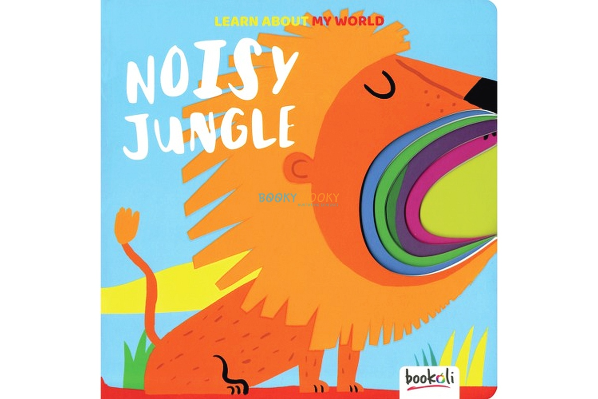 Learn about my World Noisy Jungle cut out book