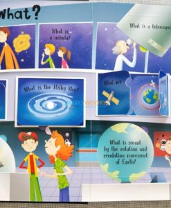 Lift A Flap Book Amazing & Curious Facts about Space (1)