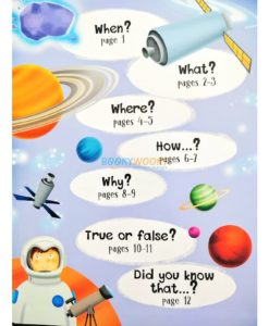 Lift A Flap Book Amazing & Curious Facts about Space (2)