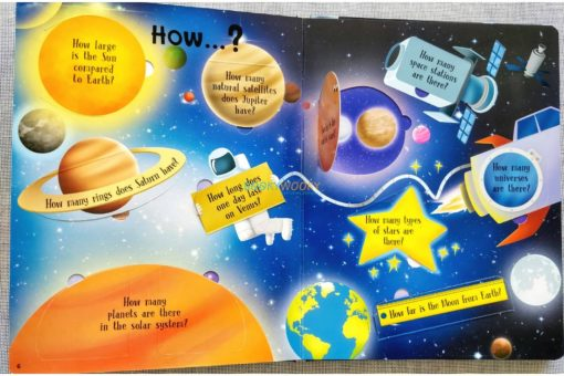 Lift A Flap Book Amazing & Curious Facts about Space (3)