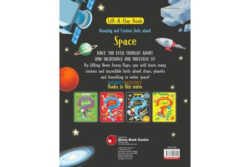 Lift A Flap Book Amazing & Curious Facts about Space back page