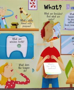 Lift A Flap Book Amazing & Curious Facts about the Human Body (4)