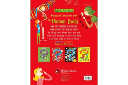 Lift A Flap Book Amazing & Curious Facts about the Human Body back page