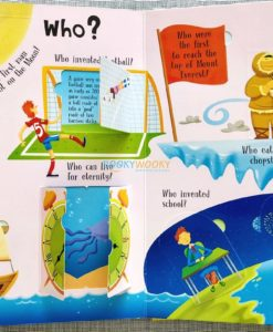 Lift A Flap Book Amazing & Curious Facts about the World (1)