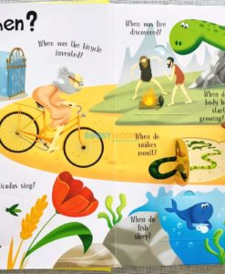 Lift A Flap Book Amazing & Curious Facts about the World (3)