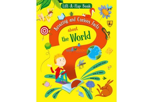 Lift A Flap Book Amazing & Curious Facts about the World 9788184996951 cover page