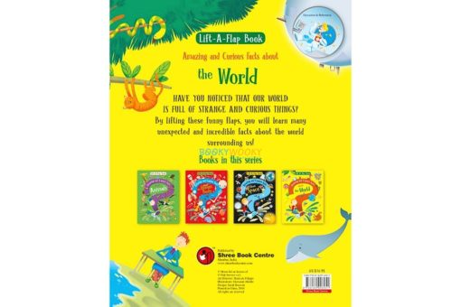 Lift A Flap Book Amazing & Curious Facts about the World back page