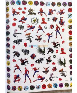 Marvel Spider Man 500 Stickers (2)