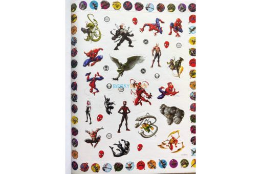 Marvel Spider Man 500 Stickers (3)