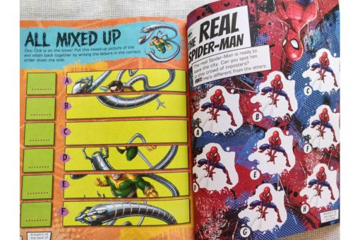 Marvel Spider Man 500 Stickers (7)