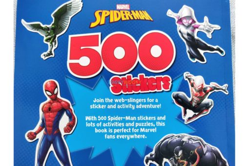 Marvel Spider Man 500 Stickers (8)