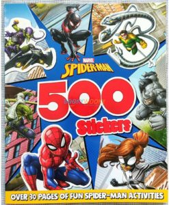 Marvel Spider Man 500 Stickers 9781789059021 (1)