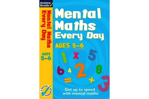 Mental Maths Every Day 5-6 9780713685916 cover page